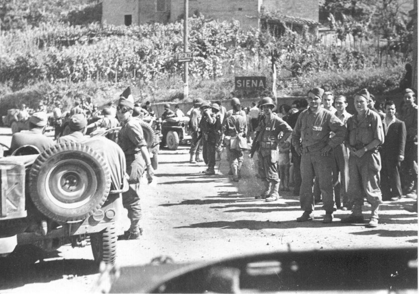 Liberazione (Archivio Istituto della Resistenza Senese e dell'Età Contemporanea)